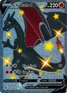 Charizard V SCR(リザードンV色違い)の画像