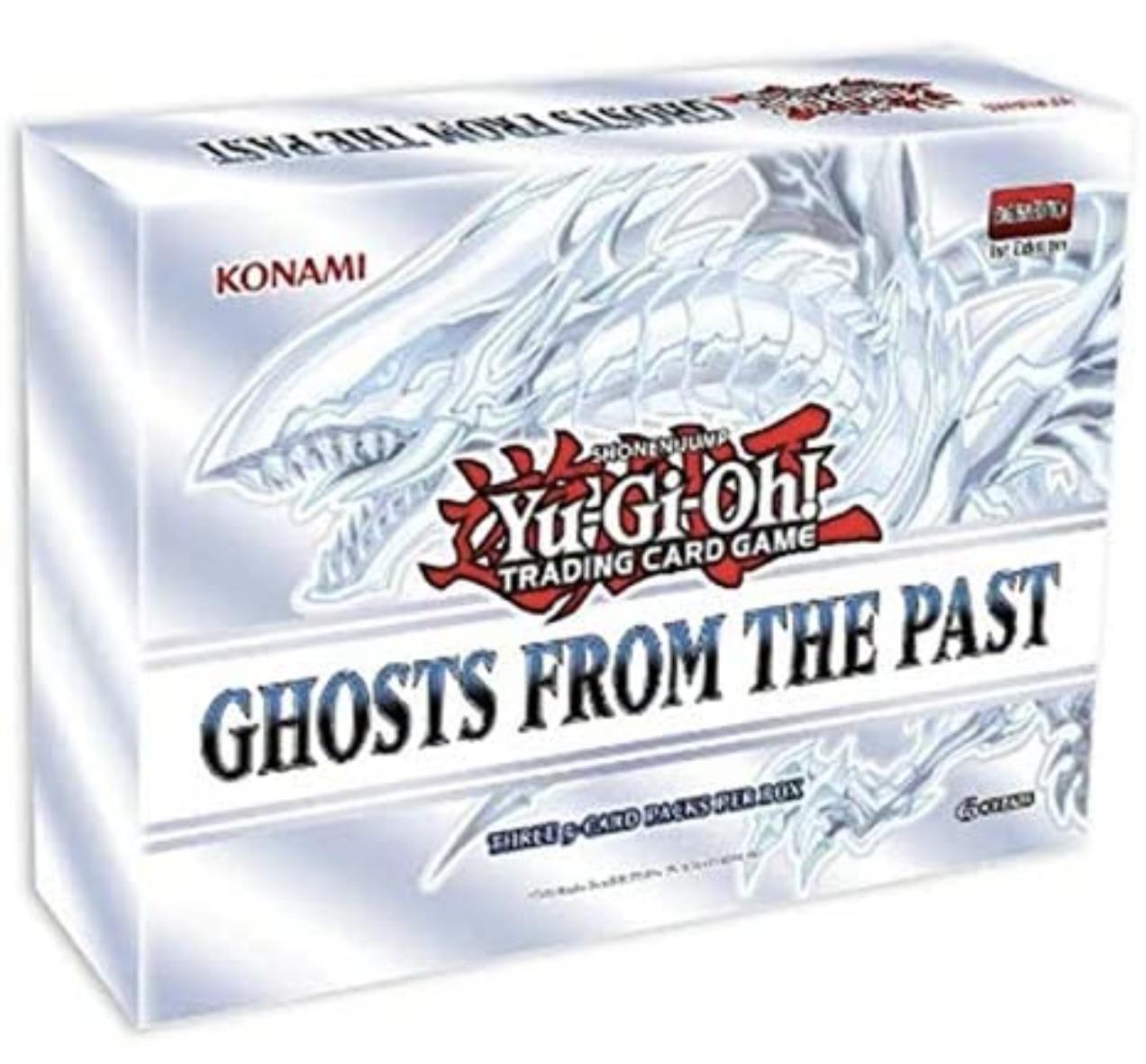 【英語/北米版】遊戯王GhostsFromthePastゴースツ・フロム・ザ・パスト1stEditionボックス