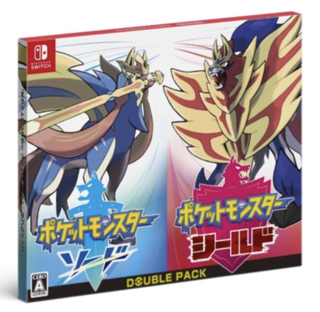 Nintendo Switchソード&シールドダブルパック