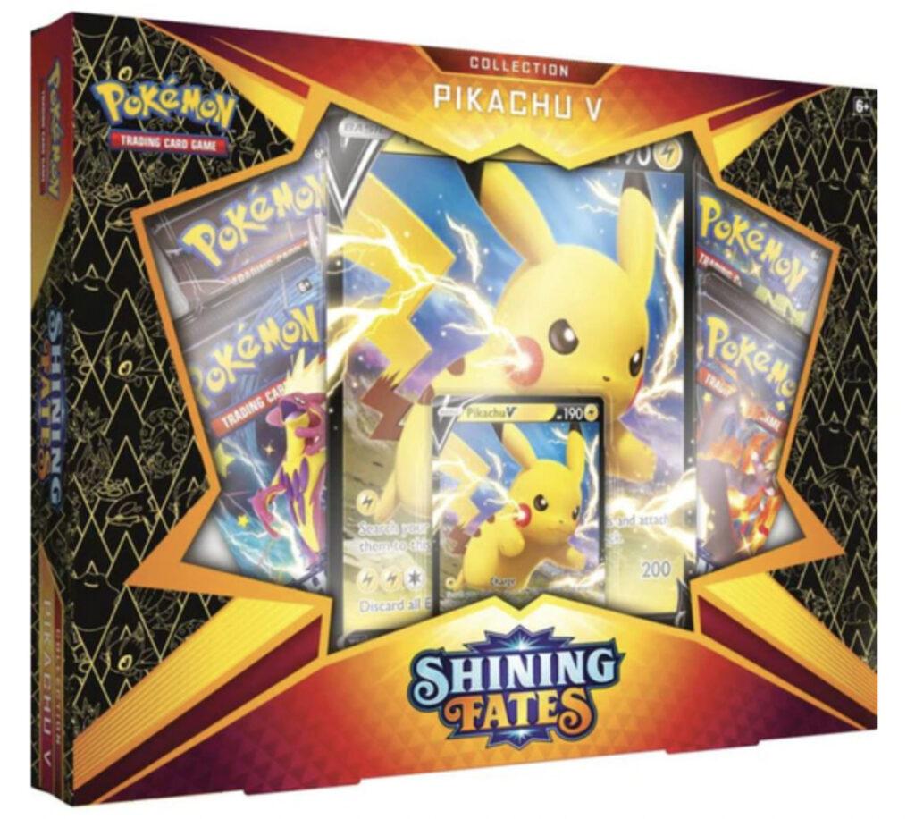 Sword & Shield Shining Fates Pikachu V Collection Box