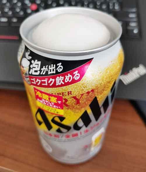 アサヒスーパードライ生ジョッキ缶は飲み口が広がるだけで美味しい!
