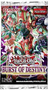 遊戯王北米版『Burst-of-Destiny』のパッケージ画像