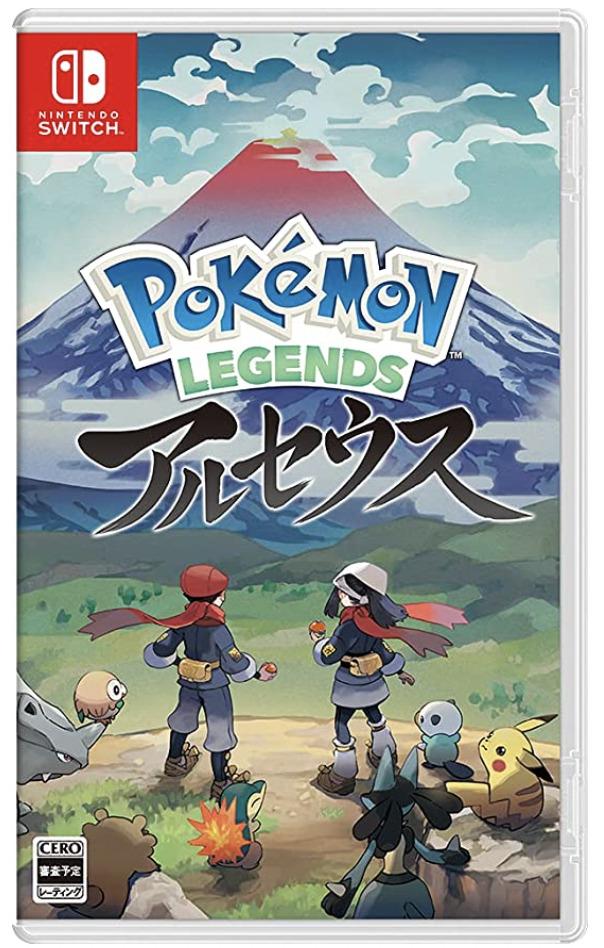 【予約情報】Nintendo Switch『Pokémon LEGENDS アルセウス』早期購入特典でプロモカード